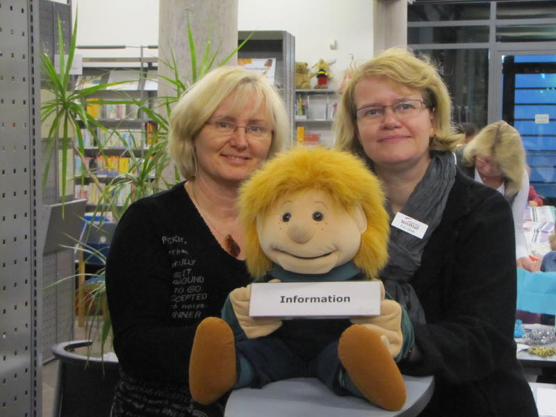 Birgit Buchholz und Martina Glöde