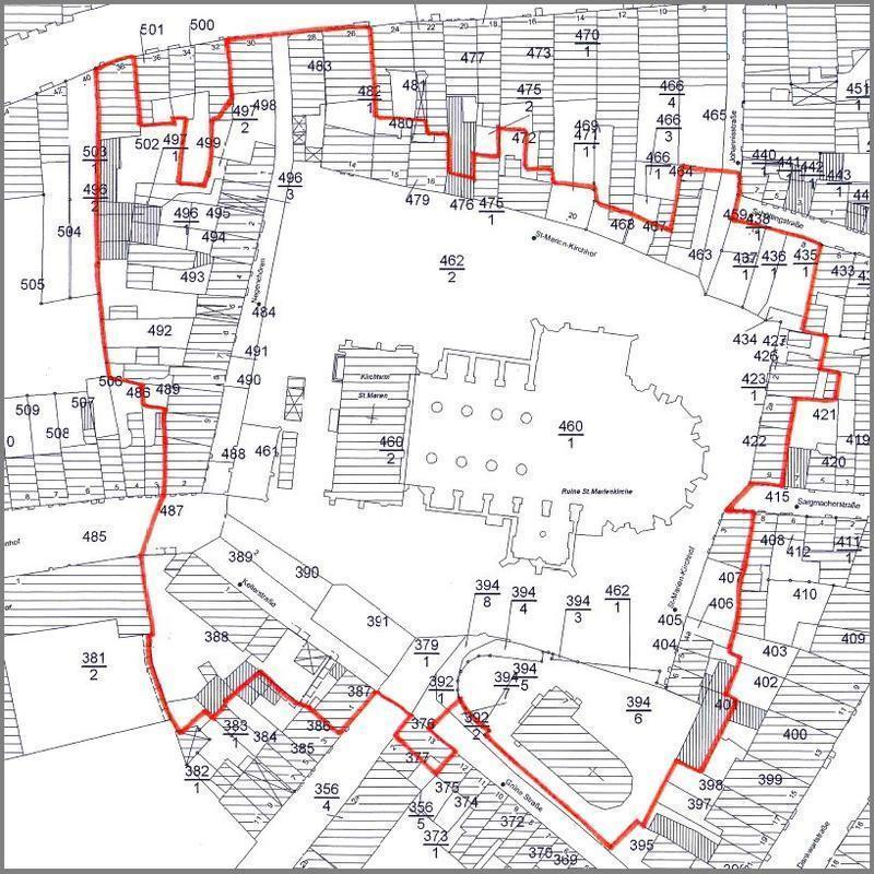 Plan Marienkirchplatz