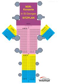 NDR Konzert Sitzplätze