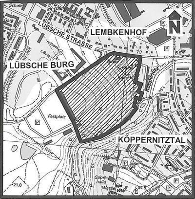 Lageplan B-Plan 76/09