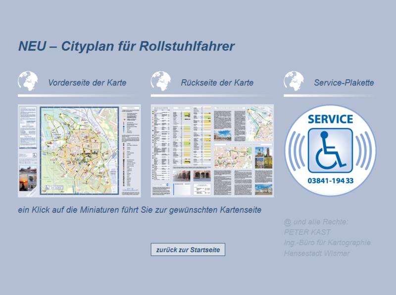 Website für Rollstuhlfahrer