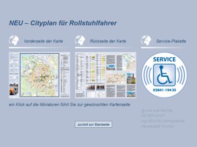Cytyplan für Rollstuhlfahrer