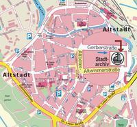 Stadtplan Vergrößerung